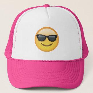 Boné Emoticon dos óculos de sol