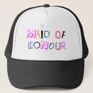 Boné Empregada doméstica do chapéu da honra