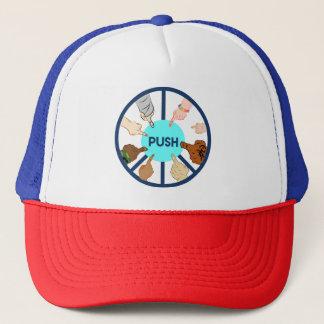 Boné EMPURRE o chapéu do camionista