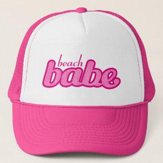 """Boné """"encalhe chapéu do rosa quente e do branco da"""