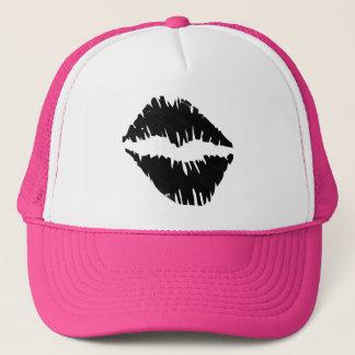 Boné Enegreça um gótico do beijo do pelotão da noiva do