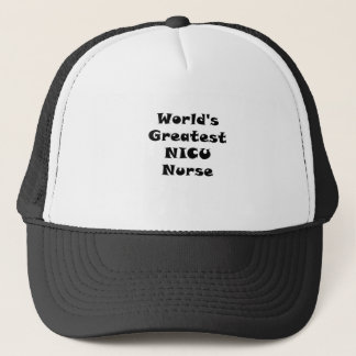 Boné Enfermeira de Nicu dos mundos a grande