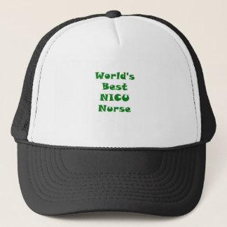 Boné Enfermeira de Nicu dos mundos a melhor