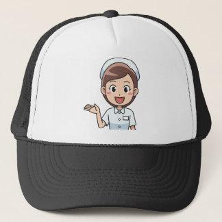 Boné Enfermeira feliz