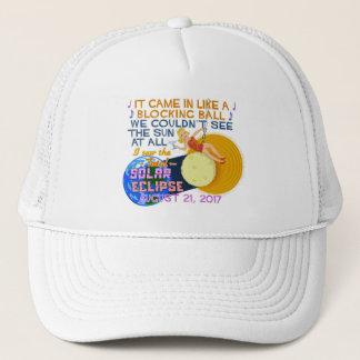 Boné Engraçado americano eclipse solar do 21 de agosto