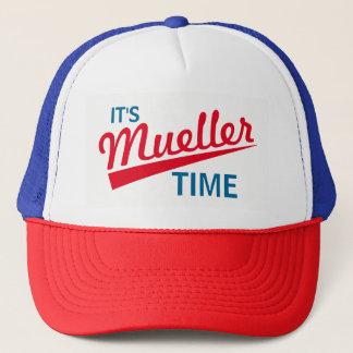 """Boné Engraçado """"é tempo de Mueller """""""