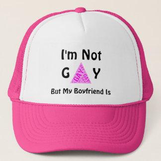 Boné Engraçado eu não sou alegre mas meu namorado é