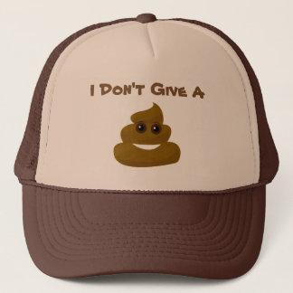 Boné Engraçado não dê um Poo Emoji