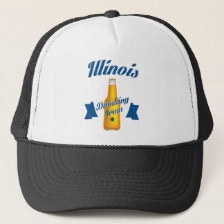 Boné Equipe do bebendo de Illinois