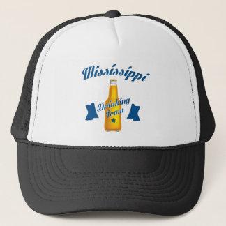 Boné Equipe do bebendo de Mississippi