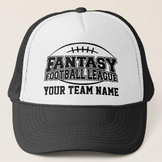 Boné Equipe do costume do futebol FFL da fantasia