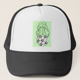 Boné Esboço 3 da bola de futebol