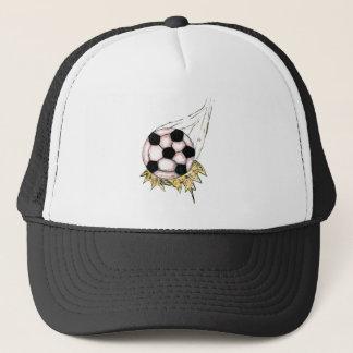 Boné Esboço da bola de futebol