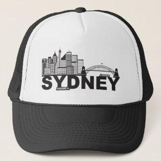 Boné Esboço do texto de Sydney Austrália Sklyine