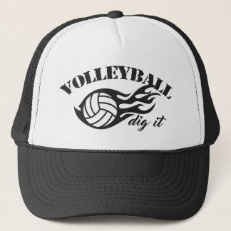 Boné Escavação do voleibol ele chapéus do camionista