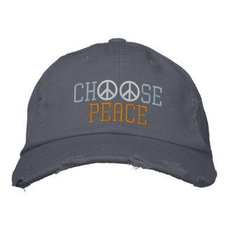 Boné Escolha a paz