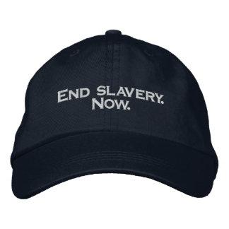 Boné Escravidão do fim. Agora