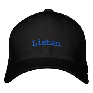Boné Escuta o chapéu do DJ