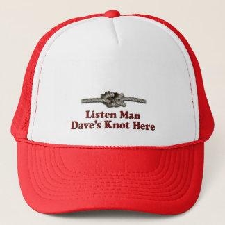 Boné Escutam os Multi-Produtos do nó de Dave do homem