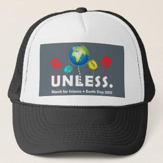 Boné Esfrie a menos que o Dia da Terra 2017 da ciência