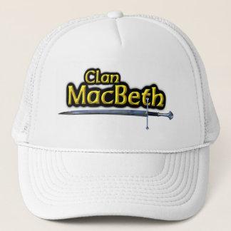 Boné Espada escocesa da inspiração de Macbeth do clã