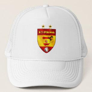 Boné Espanha 1964 2008 protetores do emblema do futebol 4c3e8fdfc8af1