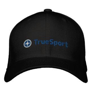 Boné Esporte verdadeiro preto e azul unisex chapéu