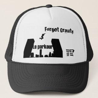Boné Esqueça a gravidade