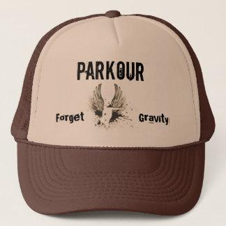 Boné Esqueça a gravidade, Parkour