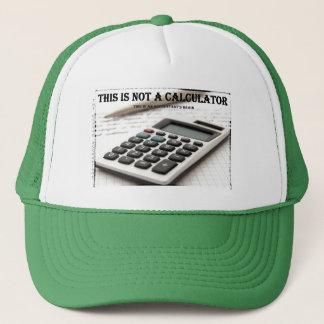 """Boné """"Esta não é uma calculadora """""""