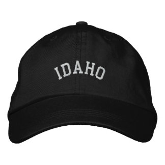 Boné Estado de Idaho bordado