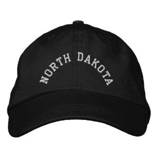 Boné Estado de North Dakota bordado