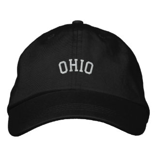 Boné Estado de Ohio bordado
