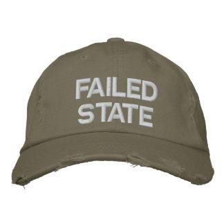 Boné Estado falido