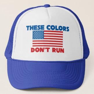 Boné Estas cores não funcionam EUA