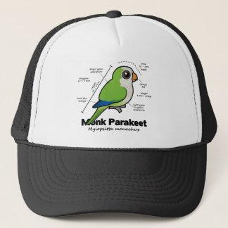 Boné Estatísticas do Parakeet da monge