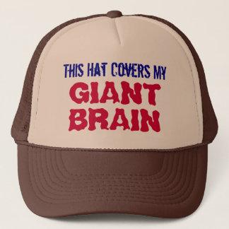 Boné Este chapéu cobre meu chapéu GIGANTE do camionista