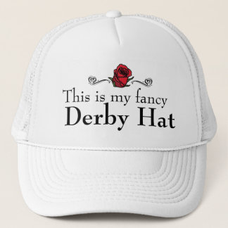 Boné Este é meu chapéu extravagante de Derby