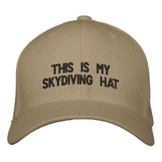 Boné Este é meu chapéu skydiving