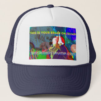 Boné ESTE É SEU CÉREBRO no chapéu do camionista do