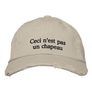 Boné Este não é um chapéu