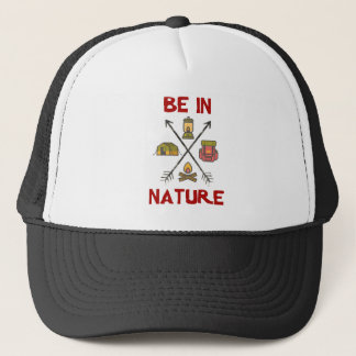 Boné Esteja na natureza