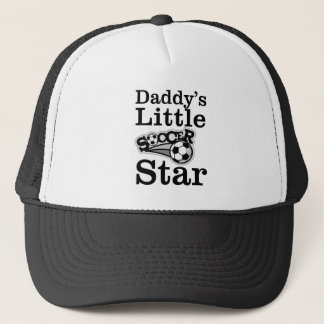 Boné Estrela de futebol do pai pouca
