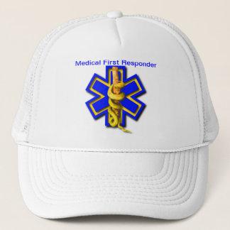 Boné Estrela do EMS que responde médico da vida do