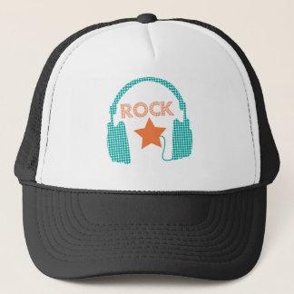 Boné Estrela do rock