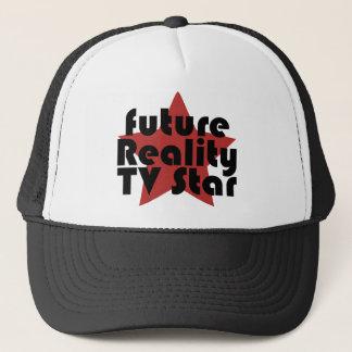 Boné estrela futura da tevê da realidade