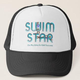 Boné Estrela SUPERIOR da natação