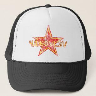 Boné Estrela vermelha de Yakovlev vestida c8e4eb6b0f3