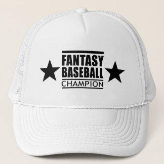 Boné Estrelas do campeão do basebol da fantasia