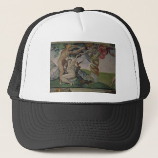 Boné Estudo de Michelangelo no chapéu